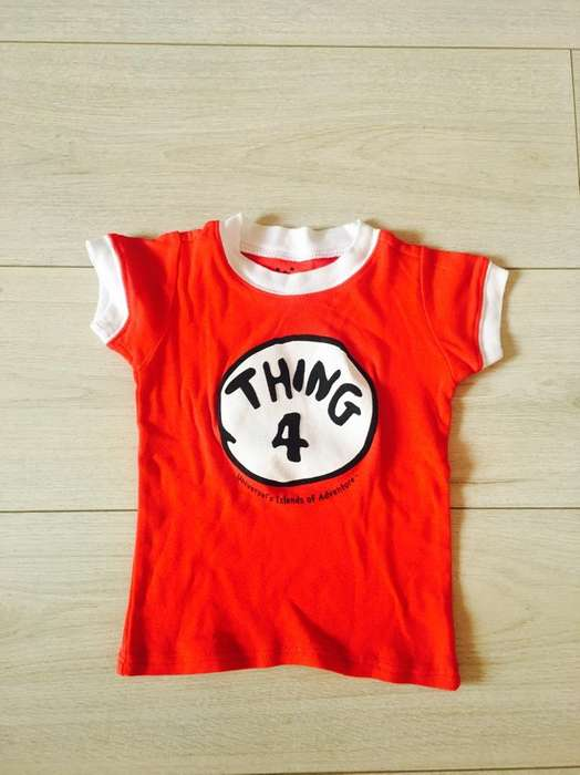Camiseta de Bebe Un Año Usada