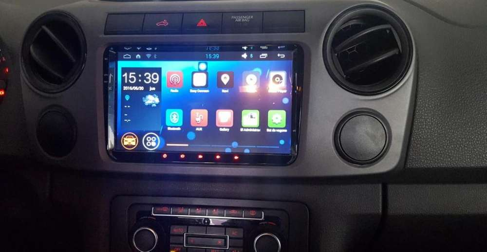 VW VOLKSWAGEN AMAROK ESTEREO CENTRAL MULTIMEDIA STEREO CON ANDROID, GPS, BLUETOOTH
