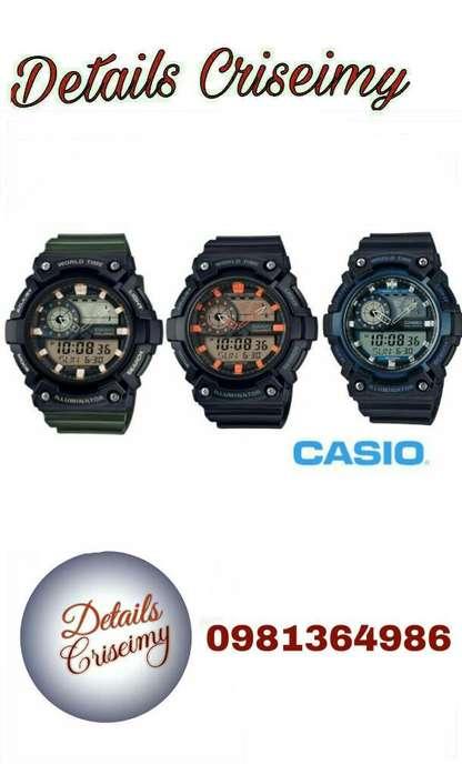 Reloj Casio, Original Hombre Aeq-200w