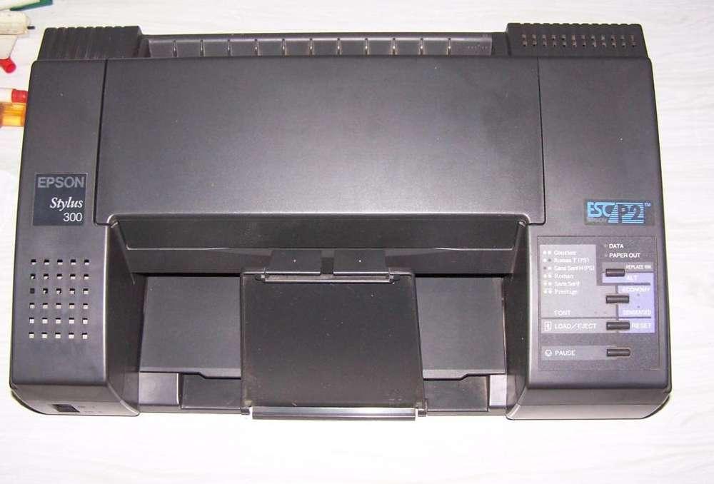 Impresora Epson Stylus 300 Lote De Cartuchos <strong>canon</strong> Bc01