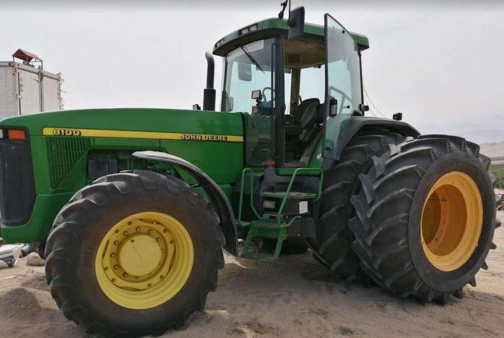 TRACTOR AGRICOLA JOHN DEERE 8100 /300 Hp y 7800 / 170Hp Importados de Europa