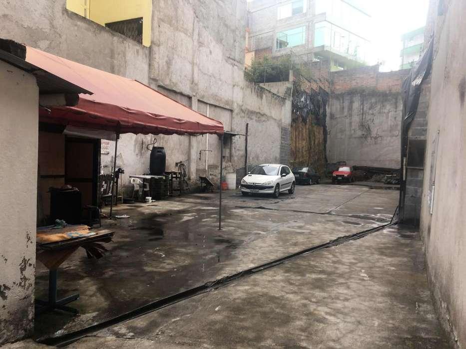 Espacioso terreno de venta sector centro norte de Quito