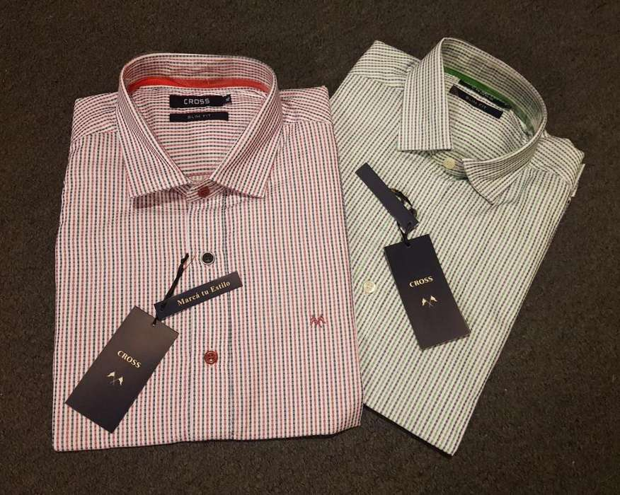 <strong>camisa</strong> Hombre Cross. Talle S Y M