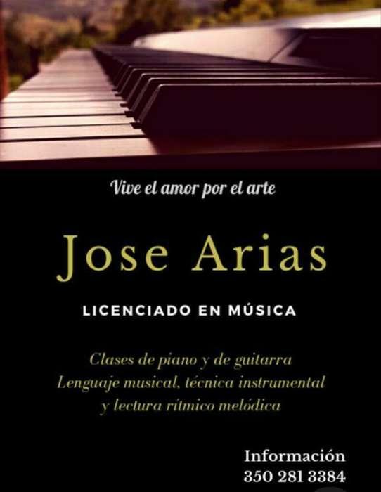 Clases de Piano Y de Guitarra