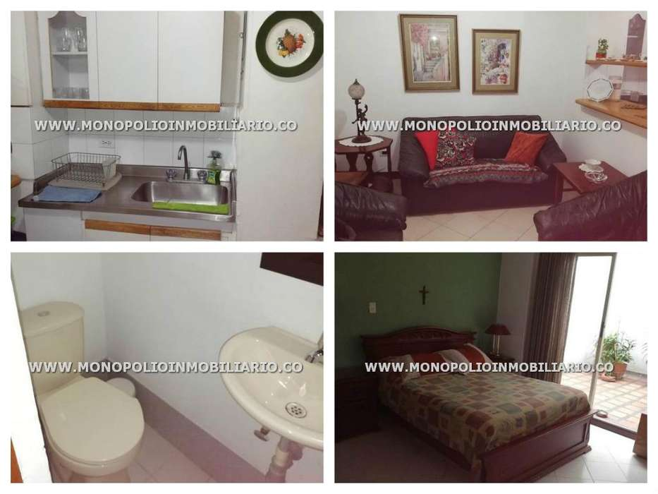 IDEAL <strong>apartamento</strong> AMOBLADO EN RENTA - SECTOR LAURELES COD: 16331