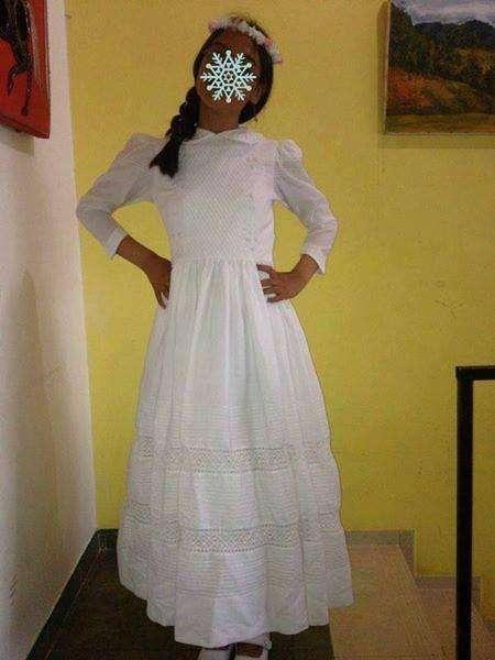 vestido de primera comunión con zapatos para niña de 9 a 13 150 negosiagles exelente nestado llamar
