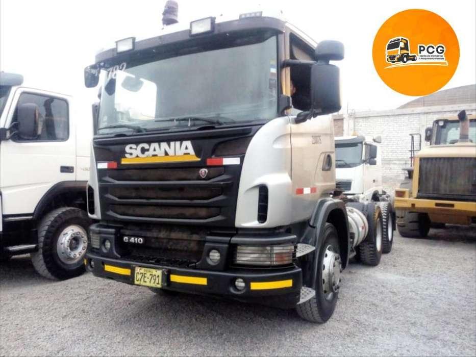 Camion Tracto Remolcador Scania G410 6x4 Año 2012