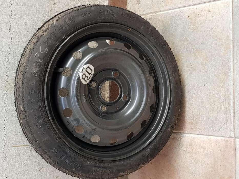 Rueda de auxilio original Nissan Tiida