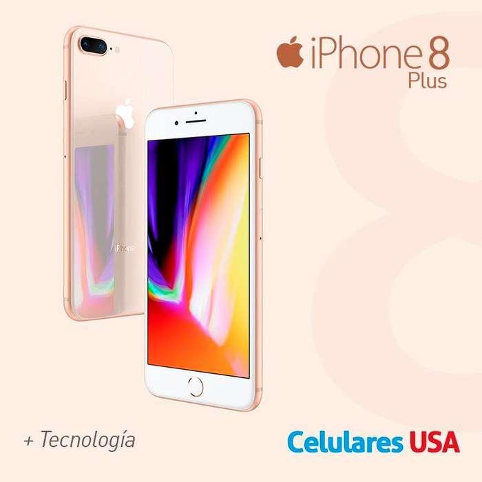 Apple Iphone 8 Plus 256gb Stock Disponible / Entrega Inmediata Tienda San Borja. Garantía.