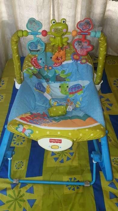 Silla Fisher Price para Bebes Buen Estad