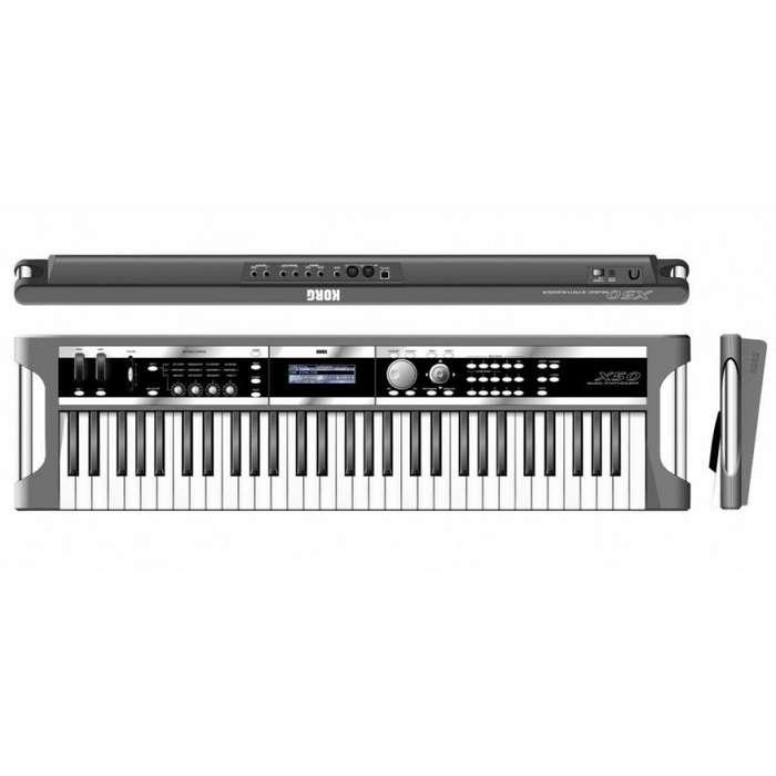 Piano Sintetizador Korg X50 Estuche Y Pedal