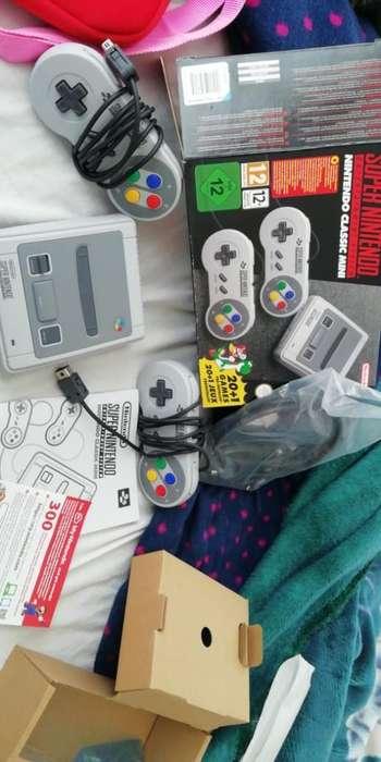 Vendo Super Nintendo Mini Nuevo