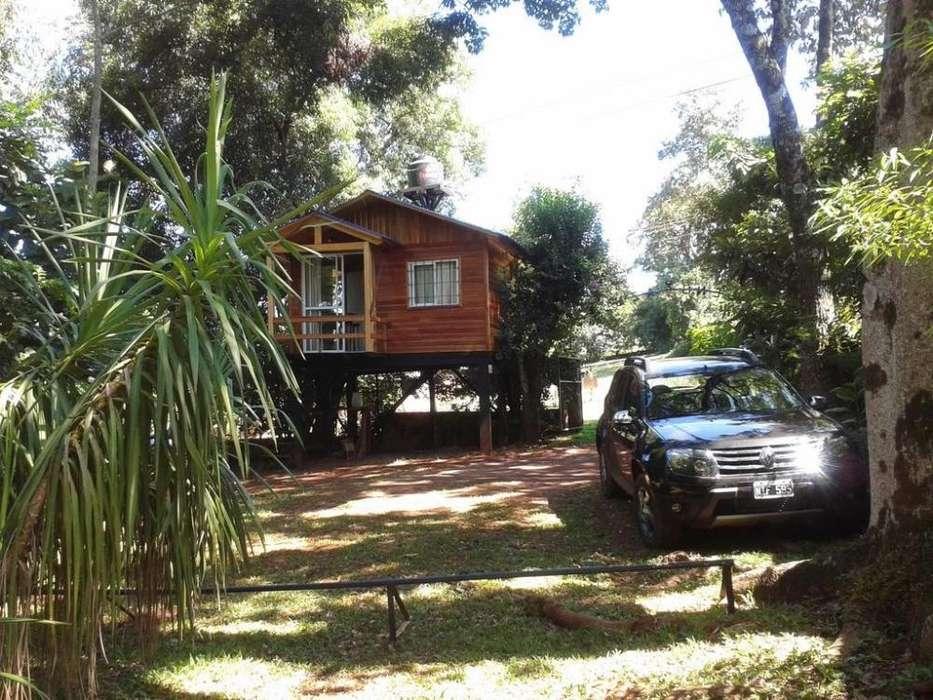 mp92 - Cabaña para 2 a 5 personas con pileta y cochera en Obera