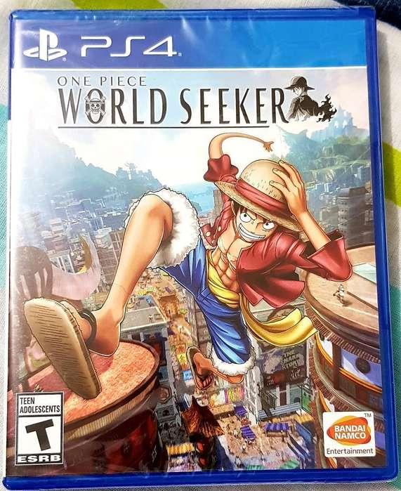 One Piece World Seeker Ps4 Sellados