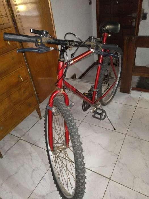 Vendo Bicicleta Rodado 26 Usada