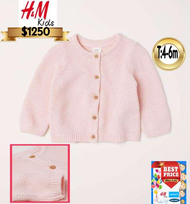 Saco tejido H&M kids T:4-6m