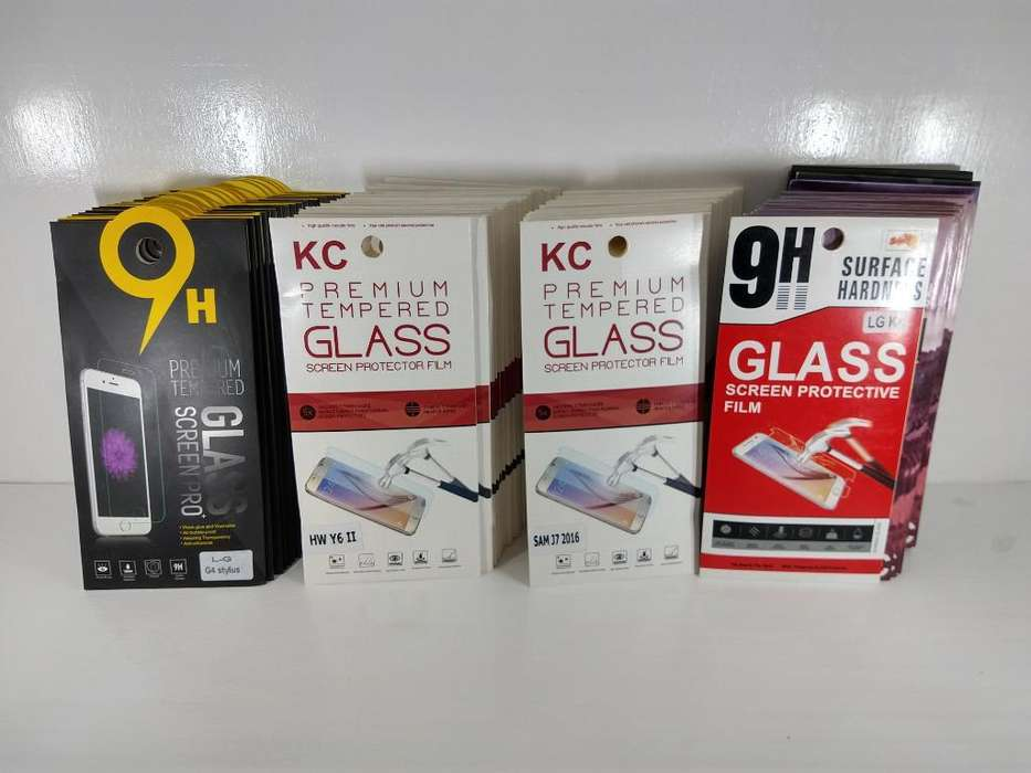 Lote Glass Vidrios Templados