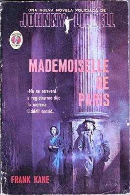 Libro: Mademoiselle de París, de Frank Kane [novela de detectives]