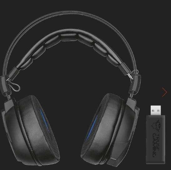 Auricular Gxt-393-magna-wireless-7-1-surround-gaming-headset