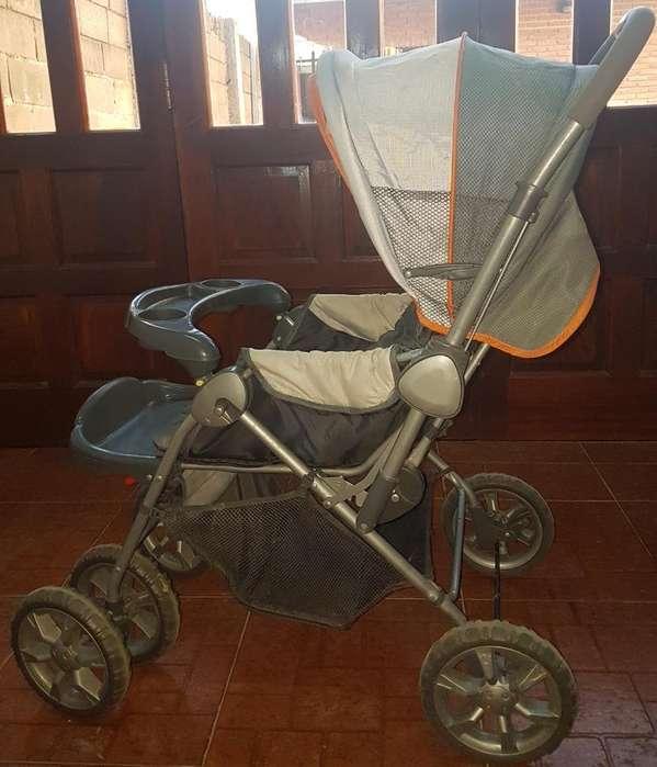 Carro Bebé 2 Posiciones Topbaby Tourrien