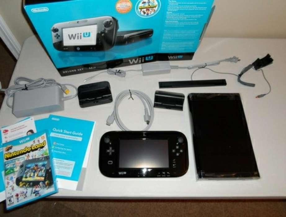 Nintendo Wii U Original Nueva Programada