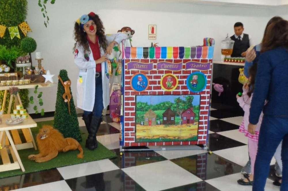 Show infantil y Chicotecas: Fiestas infantiles animadora, titeres, magia, cuenta cuentos, nidos, frozen, peppa, minnie