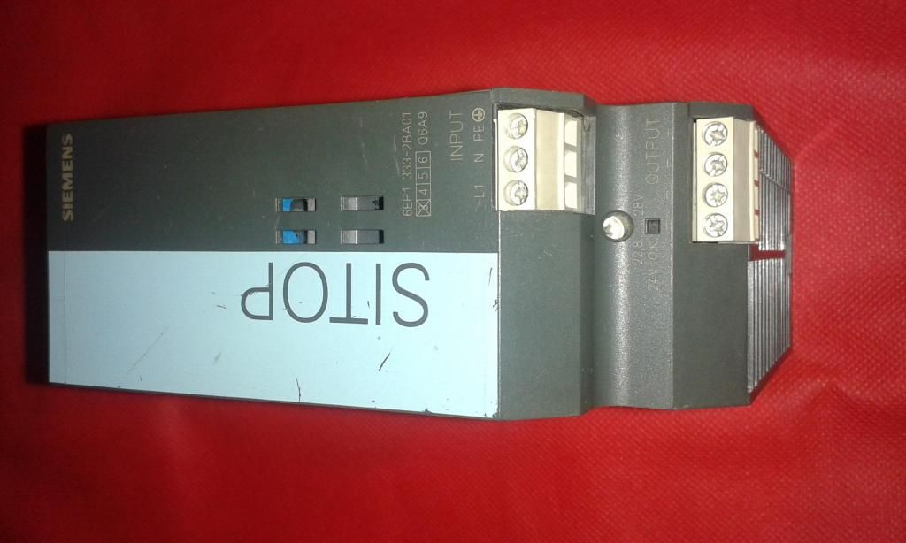 Fuente Siemens Sitop 5A caja plastica vendo o cambio