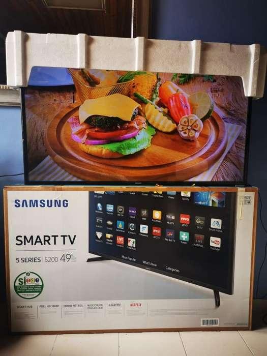 Smartv Samsung 49 Wifi Como Nuevo