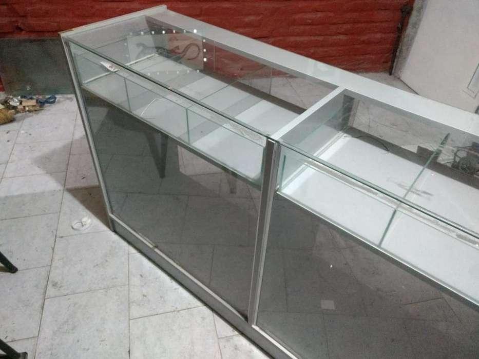 Exibidor Mostrador de Vidrio P Negocio