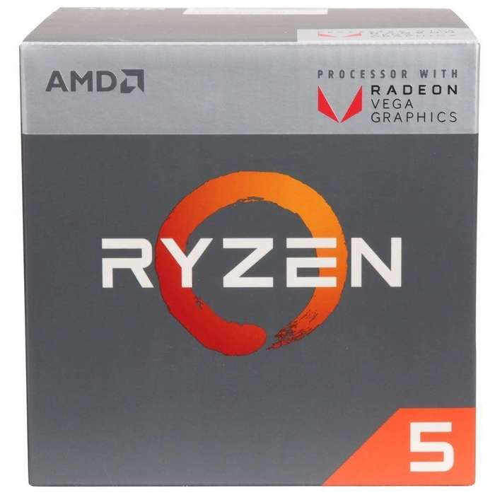 Procesador Ryzen 5 2400G