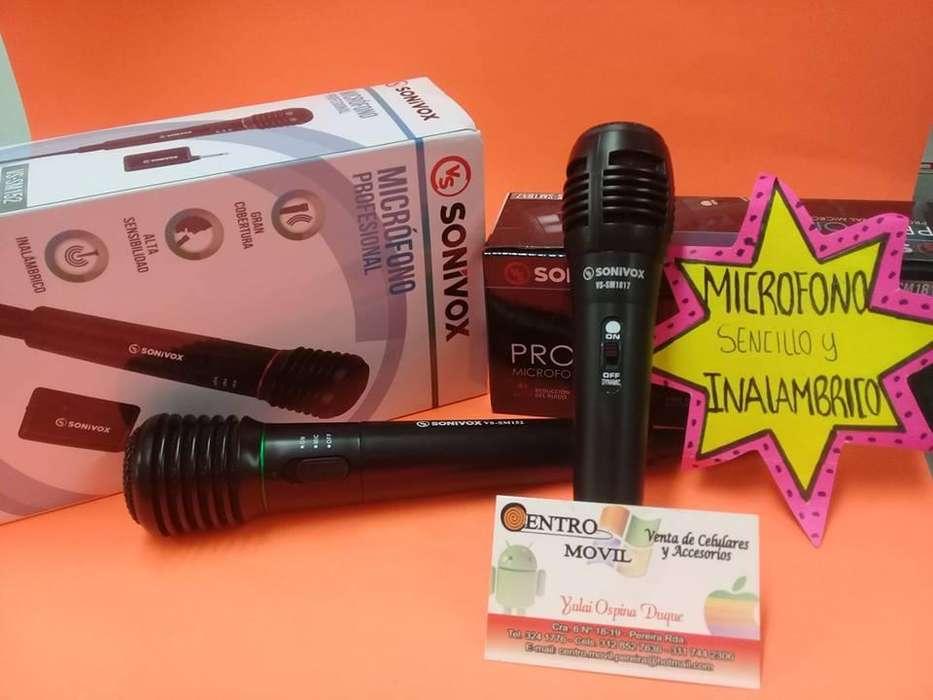 GRAN OFERTA microfonos inalambricos super economicos