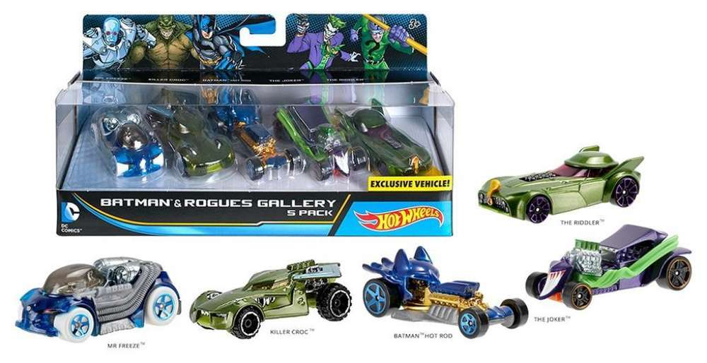 Batman Hot Wheels Pack Coleccion