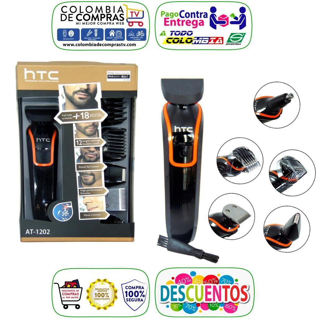 Kit De Corte Tv Htc Todo En 1 Barba Originales Afeitadora Nuevos y Garantizados