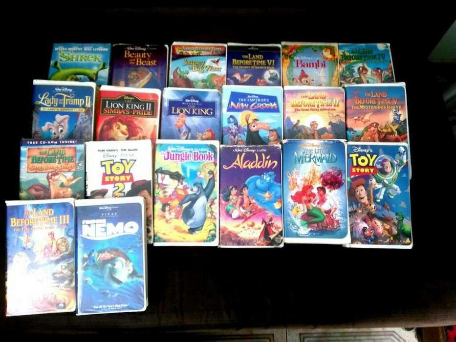 Se Venden Peliculas Originales de Disney
