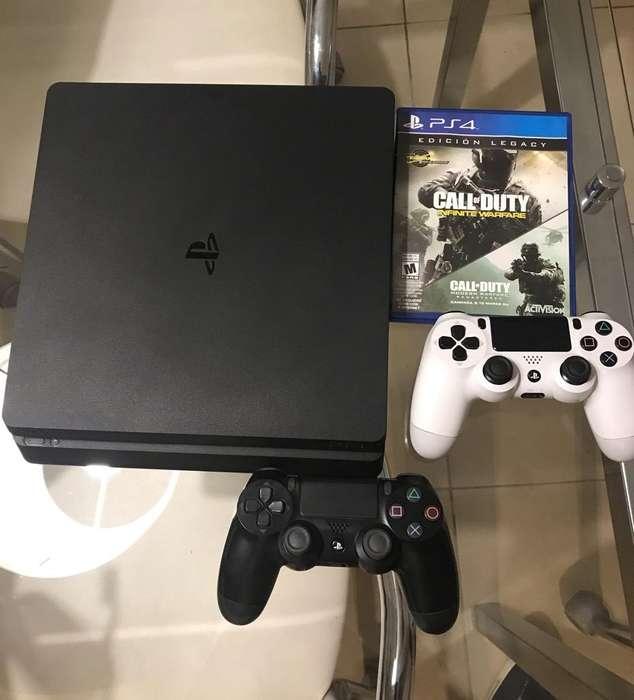 Vendo Playstation 4 Slim de 500Gb