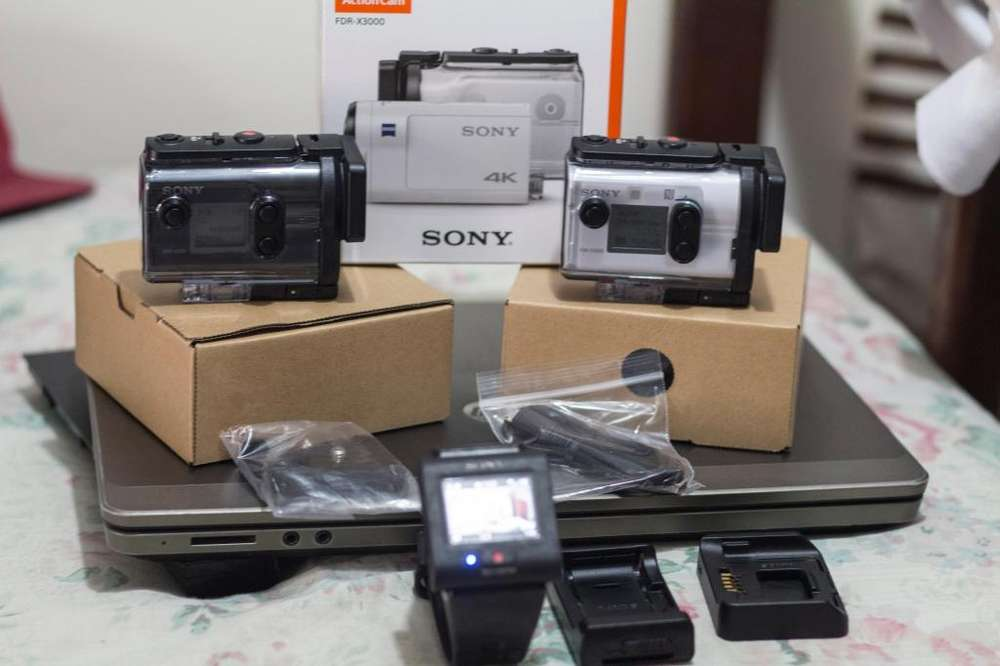 Camara Sony Action Hdr As50, Live-view Rm-lvr3 Y Fdr X3000