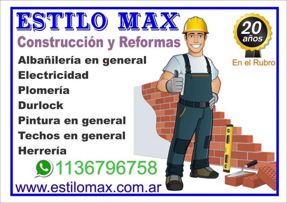 ESTILOMAX Construcción y Reformas