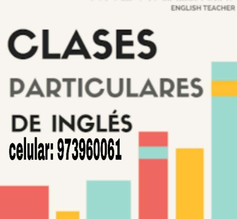 Ingles Clases Particulares a Domicilio