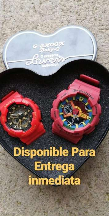 Disponible G-shock & Baby-g
