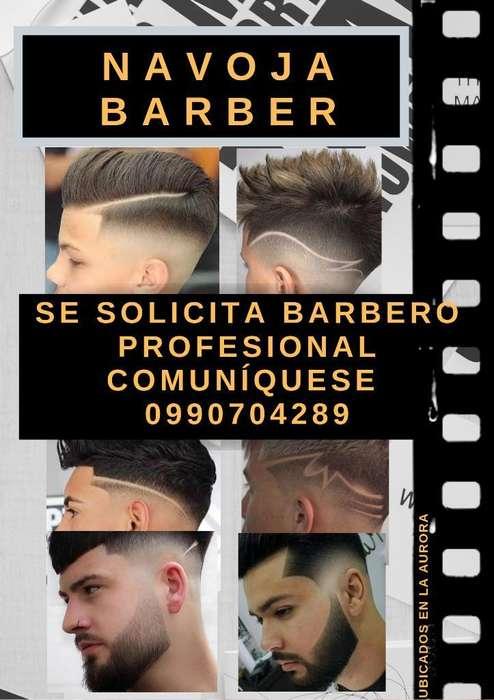 Se Solicita Barbero Profesional Y Respon