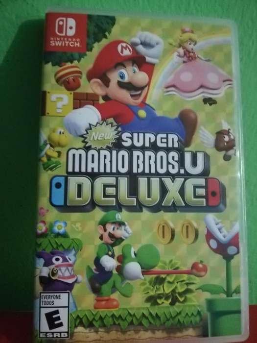 Super Mario Bros U Deluxe Nintendoswitch