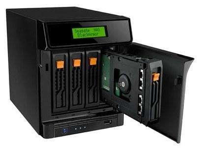 Servidor de Almacenamiento Seagate BlackArmor NAS 440 4TB