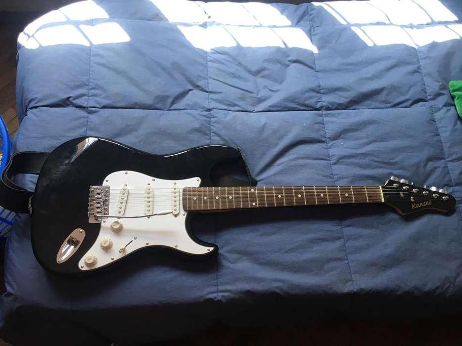 Guitarra Electrica Kansa sin Uso