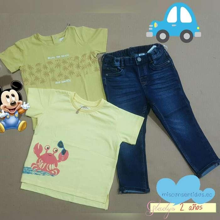 Lote de <strong>ropa</strong> Niño 2 Años
