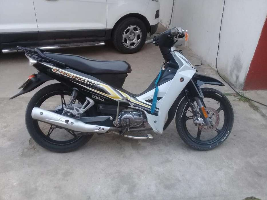 Vendo Crypton New 2018