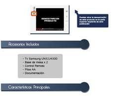 Samsung Televisor Led 32 Pulgadas Smart Wifi Netflix soporte