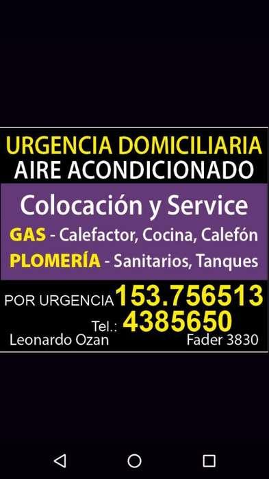 Plomeria, Gas Y Refrigeración Split