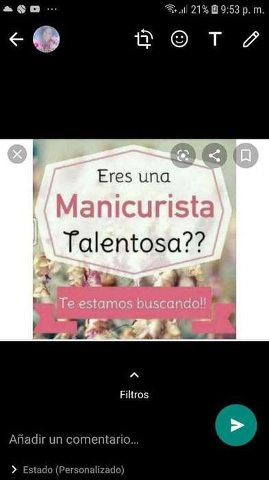 Se Busca Manicurista en El Ricaurte