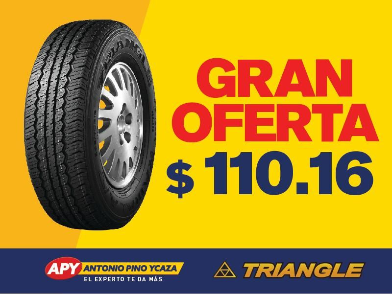LLANTA TRIANGLE 235/60R16 TR258 CHERRY TIGGO GRAND VITARA