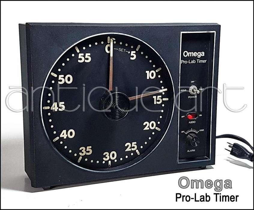 A64 Reloj Timer Pro-lab Omega Ampliadora Laboratorio Foto